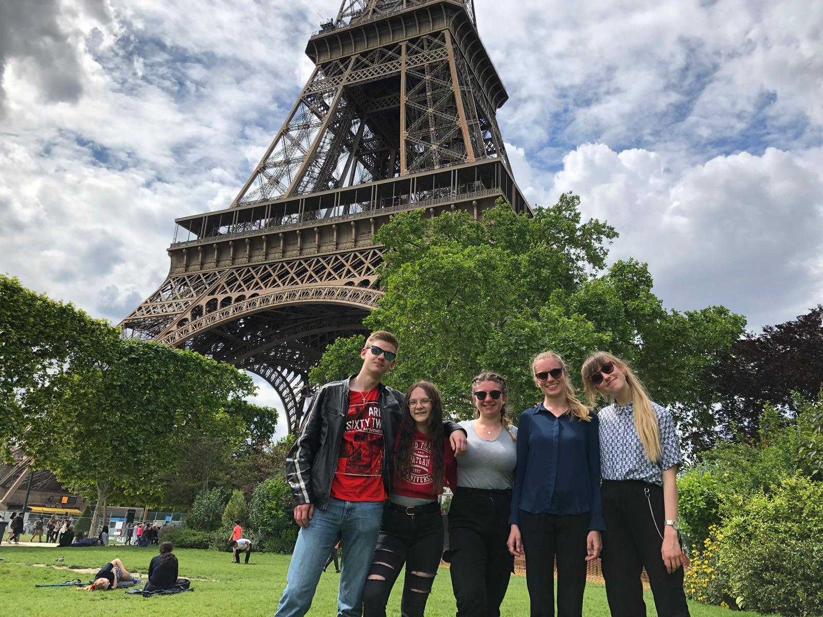 Kursfahrt Nach Paris